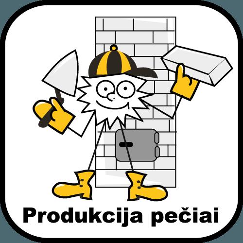 Produkcija pečiai